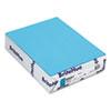 Mohawk BriteHue Multipurpose Colored Paper, 24lb, 8 1/2 x 11, Blue, 500 Sheets MOW101592