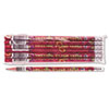 Decorated Wood Pencil, Welcome To Our Class, HB #2, Red Brl, Dozen