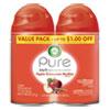 <strong>Air Wick®</strong><br />Freshmatic Ultra Spray Refill, Apple Cinnamon Medley, 5.89 oz Aerosol Spray, 2/Pack