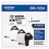 Die-Cut Name Badge Labels, 2.3 x 3.4, White, 260/Roll, 3 Rolls/Pack
