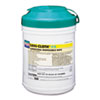 Nice Pak® HB Wet Wipes, Cloth, 6 3/4 x 6, White, 160/Canister NICQ10584
