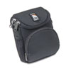 Camcorder/Digital Camera Case, Ballistic Nylon, 5 x 2 x 4 1/2, Black