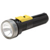 6230001631856, Watertight Flashlight, 2 D Batteries (Sold Separately), Black
