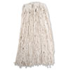 7920002050426, SKILCRAFT, Cut-End Wet Mop Head, 4-Ply, 32 oz, Natural