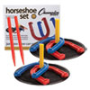 <strong>Champion Sports</strong><br />Indoor/Outdoor Rubber Horseshoe Set