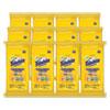 MULTI PURPOSE WIPES, LEMON, 7 X 7, 24/PACK, 12 PACKS/CARTON