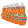 Ultra Antibacterial Dishwashing Liquid, 20 Oz Bottle, 9/carton