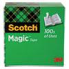 "Magic Tape Refill, 1"" Core, 0.75"" x 83.33 ft, Clear"
