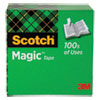 """MAGIC TAPE REFILL, 1"""" CORE, 0.5"""" X 36 YDS, CLEAR"""