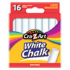 <strong>Cra-Z-Art®</strong><br />White Chalk, 16/Pack