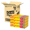 <strong>Glad®</strong><br />ClingWrap Plastic Wrap, 200 Square Foot Roll, Clear, 12/Carton