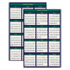 <strong>House of Doolittle&#8482;</strong><br />Recycled Four Seasons Reversible Business/Academic Wall Calendar, 24 x 37, 2021-2022