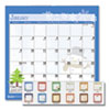<strong>House of Doolittle&#8482;</strong><br />100% Recycled Seasonal Wall Calendar, 12 x 12, 2021