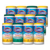 <strong>Clorox®</strong><br />Disinfecting Wipes, 7x8, Fresh Scent/Citrus Blend, 75/Canister, 3/PK, 4 Packs/CT