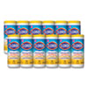 <strong>Clorox®</strong><br />Disinfecting Wipes, 7 x 8, Crisp Lemon, 35/Canister, 12/Carton