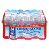<strong>Crystal Geyser®</strong><br />Alpine Spring Water, 16.9 oz Bottle, 24/Case