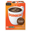 <strong>Dunkin Donuts®</strong><br />K-Cup Pods, Original Blend, 22/Box
