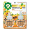 <strong>Air Wick®</strong><br />Scented Oil Twin Refill, Hawai'i Exotic Papaya/Hibiscus Flower, 0.67 oz