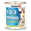 <strong>Zinsser®</strong><br />Bulls Eye 1-2-3 Water-Base Primer, Interior, Flat White, 1 qt Bucket/Pail