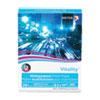VITALITY MULTIPURPOSE PRINT PAPER, 92 BRIGHT, 20 LB, 8.5 X 11, WHITE, 500 SHEETS/REAM