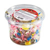 Office Snax® All Tyme Favorite Assorted Candies and Gum, 2 lb Resealable Plastic Tub OFX00002