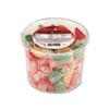 Office Snax® Assorted Fruit Slices Candy, Individually Wrapped, 2 lb Resealable Plastic Tub OFX00005
