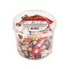 Office Snax® Soft & Chewy Mix, Assorted Soft Candy, 2 lb Resealable Plastic Tub OFX00013