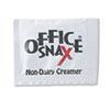 Office Snax® Premeasured Single-Serve Packets, Powder Non-Dairy Creamer, 800/Carton