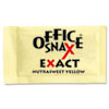 Office Snax® Yellow Sweetener, 2000 Packets/Carton OFX00062