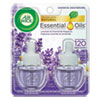 <strong>Air Wick®</strong><br />Scented Oil Refill, Lavender and Chamo mile, 0.67 oz, 2/Pack