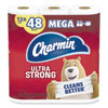 ULTRA STRONG BATHROOM TISSUE, SEPTIC SAFE, 2-PLY, WHITE, 264 SHEET/ROLL, 12/PACK, 4 PACKS/CARTON