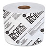 PACIFIC BLUE BASIC HIGH-CAPACITY BATHROOM TISSUE, SEPTIC SAFE, 2-PLY, WHITE, 1,000 SHEETS/ROLL, 48 ROLLS/CARTON