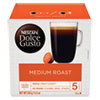 Coffee Capsules, Medium Roast, 12 oz, Capsule, 3/Carton