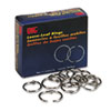 "<strong>Officemate</strong><br />Book Rings, 1"" Diameter, 100/Box"