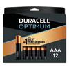 <strong>Duracell®</strong><br />Optimum Alkaline AAA Batteries, 12/Pack