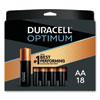 <strong>Duracell®</strong><br />Optimum Alkaline AA Batteries, 18/Pack