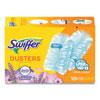 <strong>Swiffer®</strong><br />Refill Dusters, DustLock Fiber, Light Blue, Lavender Vanilla Scent,10/Box,4 Boxes/Carton