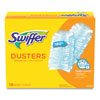 """<strong>Swiffer®</strong><br />Refill Dusters, Dust Lock Fiber, 2"""" x 6"""", Light Blue, 18/Box, 4 Boxes/Carton"""