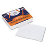 "Multi-Program Handwriting Paper, 5/8"" Long Rule, 10-1/2 x 8, White, 500 Shts/Pk"