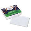 "Multi-Program Handwriting Paper, 1/2"" Long Rule, 10-1/2 x 8, White, 500 Shts/Pk"