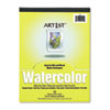 Pacon® Artist Watercolor Paper Pad, 9 x 12, White, 12 Sheets PAC4910