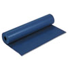"Rainbow Duo-Finish Colored Kraft Paper, 35lb, 36"" x 1000ft, Dark Blue"