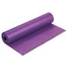 "Rainbow Duo-Finish Colored Kraft Paper, 35lb, 36"" x 1000ft, Purple"