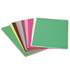 Construction Paper, 58 lbs., 12 x 18, Assorted, 50 Sheets/Pack