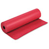 "Pacon Spectra ArtKraft Duo-Finish Paper Roll - 36"" x 1000 ft - 1 / Roll - Red - Kraft PAC67041"