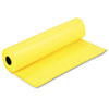 "Pacon Spectra ArtKraft Duo-Finish Paper Roll - 36"" x 1000 ft - 1 / Roll - Canary - Kraft PAC67081"