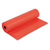 "Pacon Spectra ArtKraft Duo-Finish Paper Roll - 36"" x 1000 ft - 1 / Roll - Orange - Kraft PAC67101"