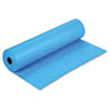 "Pacon Spectra ArtKraft Duo-Finish Paper Roll - 36"" x 1000 ft - 1 / Roll - Brite Blue - Kraft PAC67171"