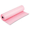 "Pacon Spectra ArtKraft Duo-Finish Paper Roll - 36"" x 1000 ft - 1 / Roll - Pink - Kraft PAC67261"