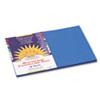 CONSTRUCTION PAPER, 58LB, 12 X 18, BRIGHT BLUE, 50/PACK